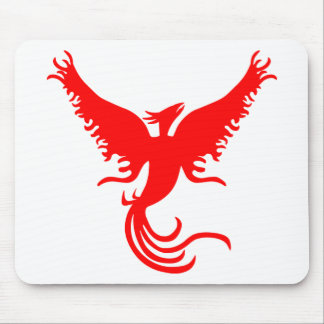 Mythical Phoenix Bird. Mouse Pad