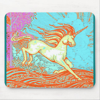 Mythical Unicorn Gifts by Sharles Art Mouse Pad