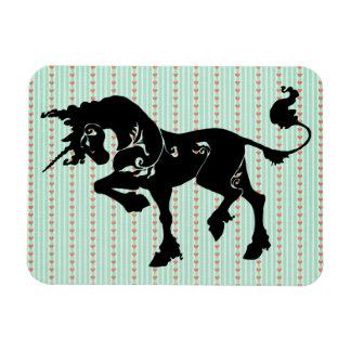 Mythical Unicorn Vinyl Magnet