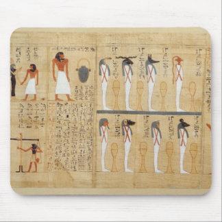 Mythological papyrus of Imenemsaouf Mouse Mat