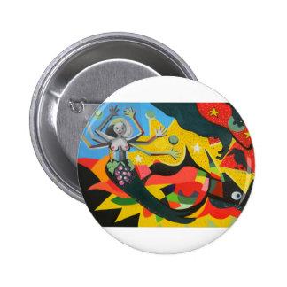 Mythology 6 Cm Round Badge
