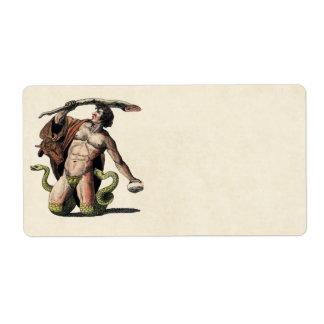 Mythology Educational Plate