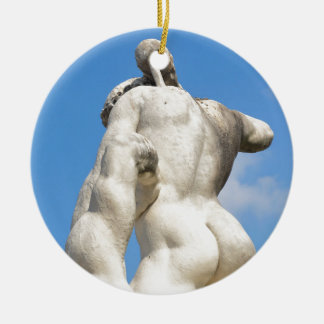 Mythology Round Ceramic Decoration