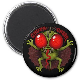 MYTHOLOGY: The Chupacabra 6 Cm Round Magnet