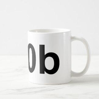 n00b basic white mug