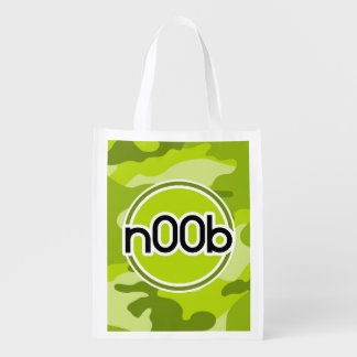 n00b; bright green camo, camouflage