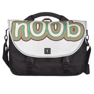 n00b laptop shoulder bag