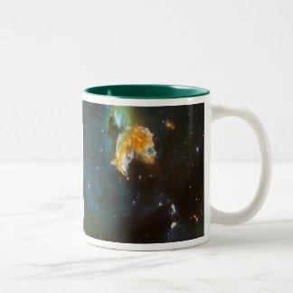 N63A Lady of the night sky Two-Tone Coffee Mug