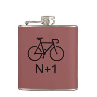 N+1 Bike Hip Flask
