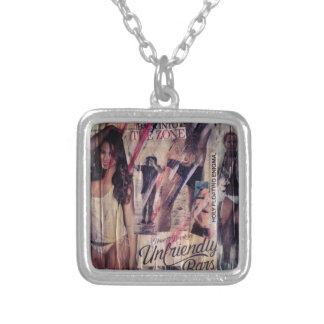 n°67 square pendant necklace