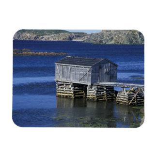 N.A., Canada, Newfoundland, Durrell. Fishing Magnet