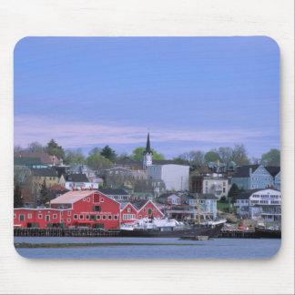 N.A. Canada, Nova Scotia. A view of Lunenburg, a Mouse Mat