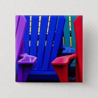 N.A. Canada, Nova Scotia, Bridgewater. Colorful 2 15 Cm Square Badge