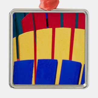 N.A. Canada, Nova Scotia, Bridgewater. Colorful Christmas Ornament