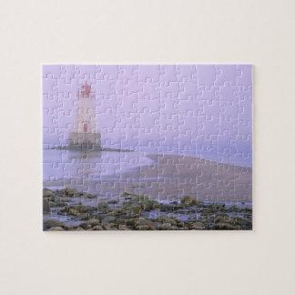 N.A. Canada, Nova Scotia, Shelburne County. 3 Jigsaw Puzzle