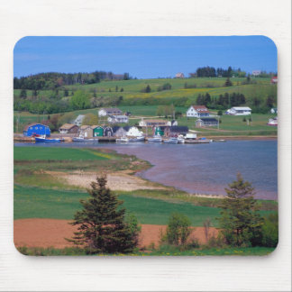 N.A. Canada, Prince Edward Island. Boats are Mouse Mat