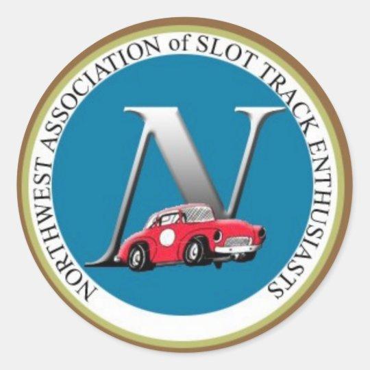 N.A.S.T.E. Logo Stickers