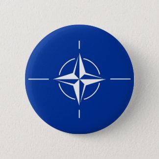N.A.T.O. flag 6 Cm Round Badge