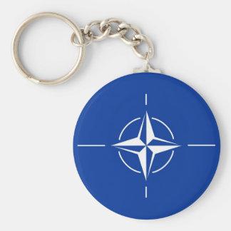 N.A.T.O. flag Key Ring