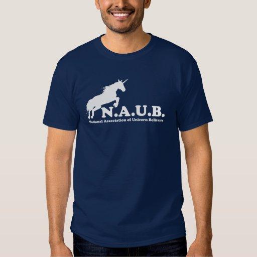 N.A.U.B Unicorn Believers T-shirts