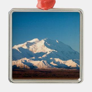 N.A., USA, Alaska.  Mt. McKinley in Denali Christmas Ornament