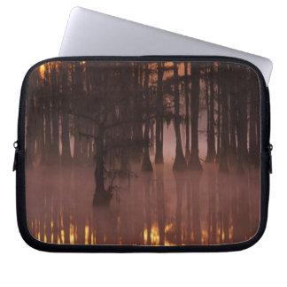 N.A., USA, Georgia, George Smith State Park. Laptop Sleeve