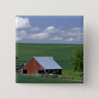 N.A., USA, Idaho, Latah county near Genesee. 15 Cm Square Badge
