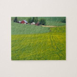 N.A., USA, Idaho, Latah County, near Genesee. Jigsaw Puzzle