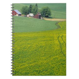 N.A., USA, Idaho, Latah County, near Genesee. Spiral Notebook