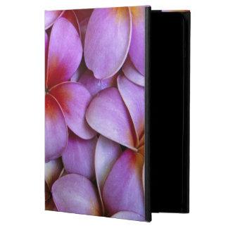 N.A., USA, Maui, Hawaii. Pink Plumeria blossoms. Case For iPad Air