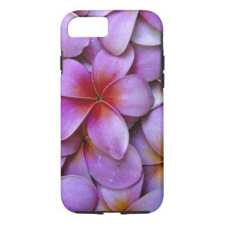 N.A., USA, Maui, Hawaii. Pink Plumeria blossoms. iPhone 8/7 Case