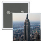 N.A., USA, New York, New York City. The Empire 15 Cm Square Badge