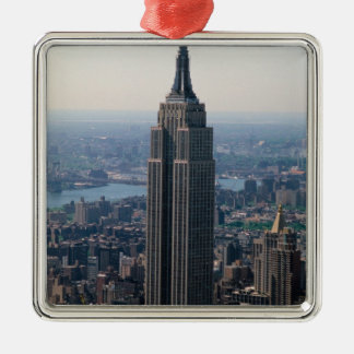 N.A., USA, New York, New York City. The Empire Christmas Ornament
