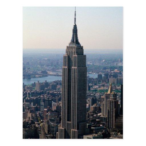 N.A., USA, New York, New York City. The Empire Postcard