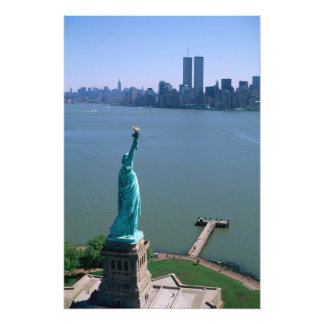 N.A., USA, New York, New York City. The Statue Photo Art