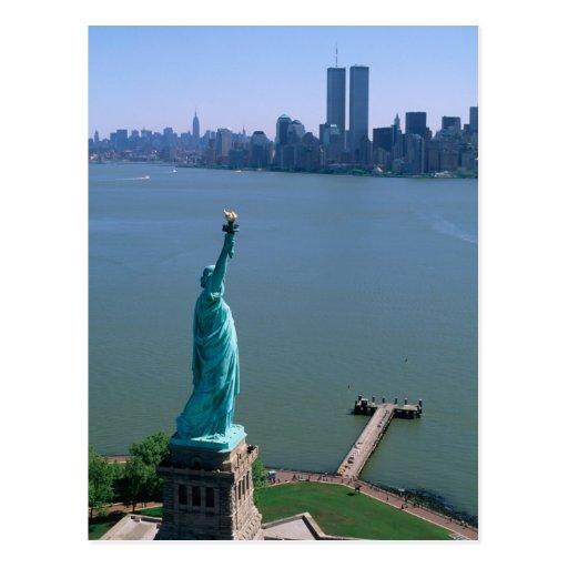 N.A., USA, New York, New York City. The Statue Postcard