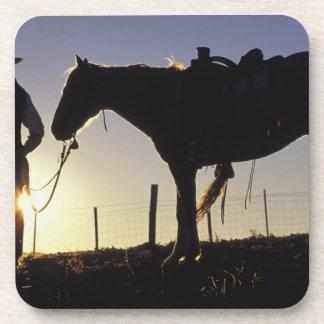 N.A., USA, Oregon, Seneca, Ponderosa Ranch, Drink Coaster