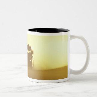 N.A., USA, Oregon, Southeastern Oregon, Rural Two-Tone Coffee Mug