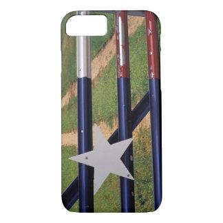 N.A., USA, Texas, Lake Buchanan, Texas flag iPhone 8/7 Case