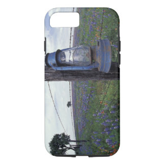 N.A., USA, Texas, Llano, Blue Lantern, Oak tree iPhone 8/7 Case