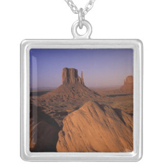 N.A., USA, Utah, Canyonlands National Park Silver Plated Necklace