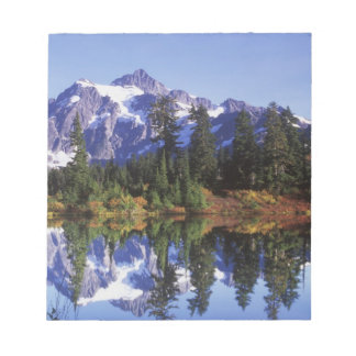 N.A., USA, Washington, Mt. Baker & Snoqualmie Notepad