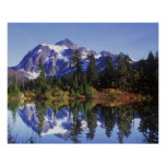 N.A., USA, Washington, Mt. Baker & Snoqualmie Posters