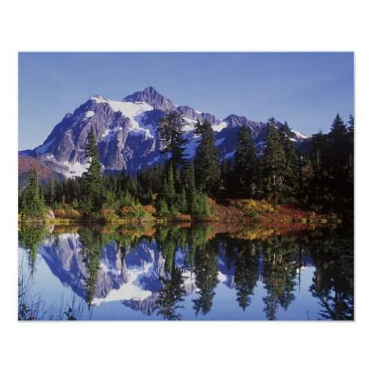 N.A., USA, Washington, Mt. Baker & Snoqualmie Poster