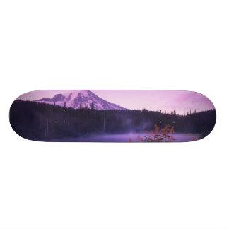 N.A., USA, Washington, Mt. Rainier National 18.4 Cm Mini Skateboard Deck