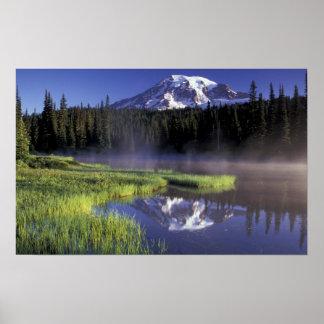 N.A., USA, Washington, Mt. Rainier National 5 Poster