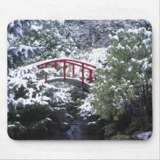 N.A., USA, Washington, Seattle. Moon bridge in 2 Mousepads