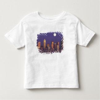 N.A., USA, Washington, Seattle Seattle skyline Toddler T-Shirt