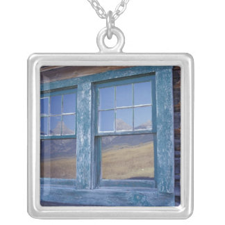 N.A., USA, Wyoming, Grand Teton National Park, Silver Plated Necklace
