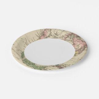 N America 2 Paper Plate